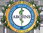 American Board of Otolaryngology - Head and Neck Surgery logo