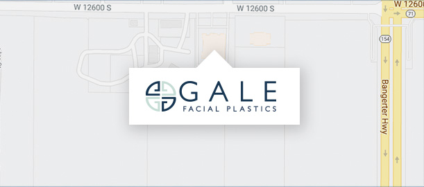 Gale Facial Plastics Location Map Button