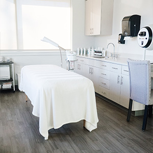 Gale Esthetician Services room