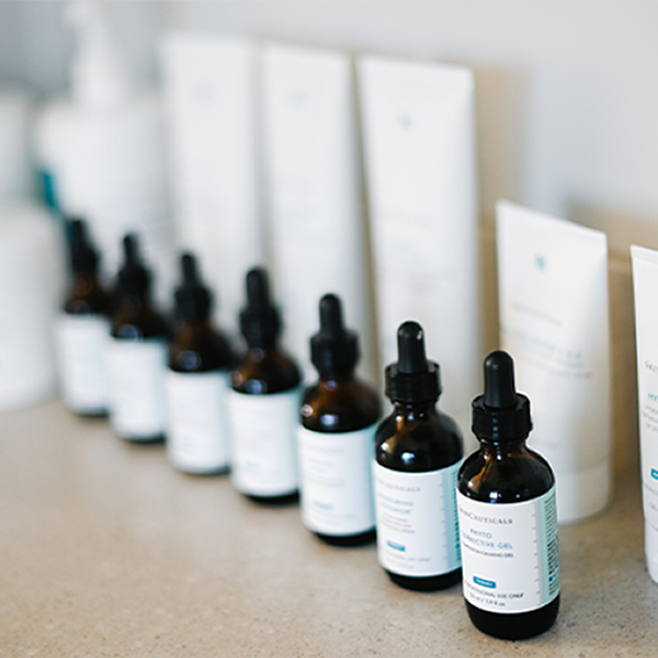 Aesthetician skincare products