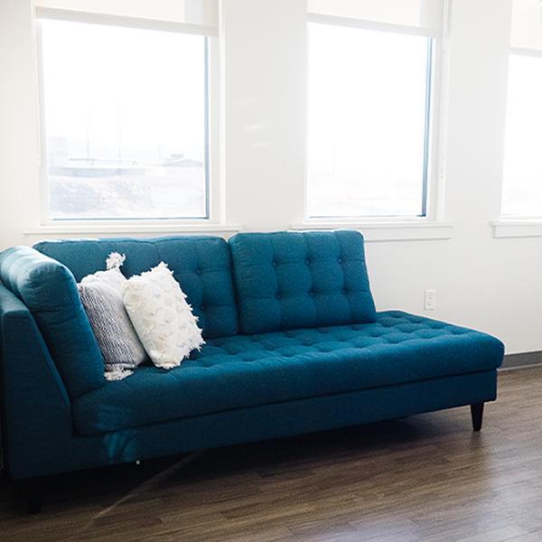 aesthetician services sofa